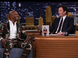 Jimmy Fallon interviews Terry Crews