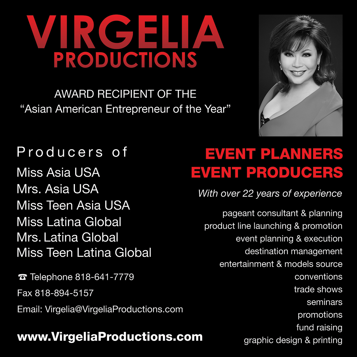 Virgelia Productions Inc