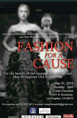 Lou razon Fashion for a Cause