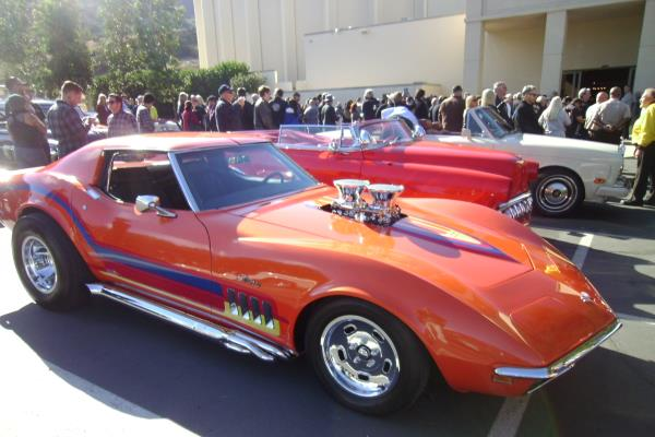 George Barris Funeral Forest Lawn Burbank California