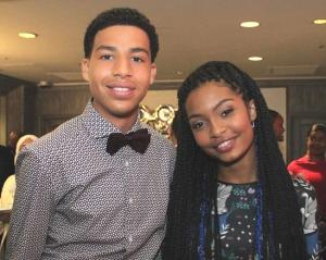 Black-ish Actors Yara Shahidi and Marcus Scribner
