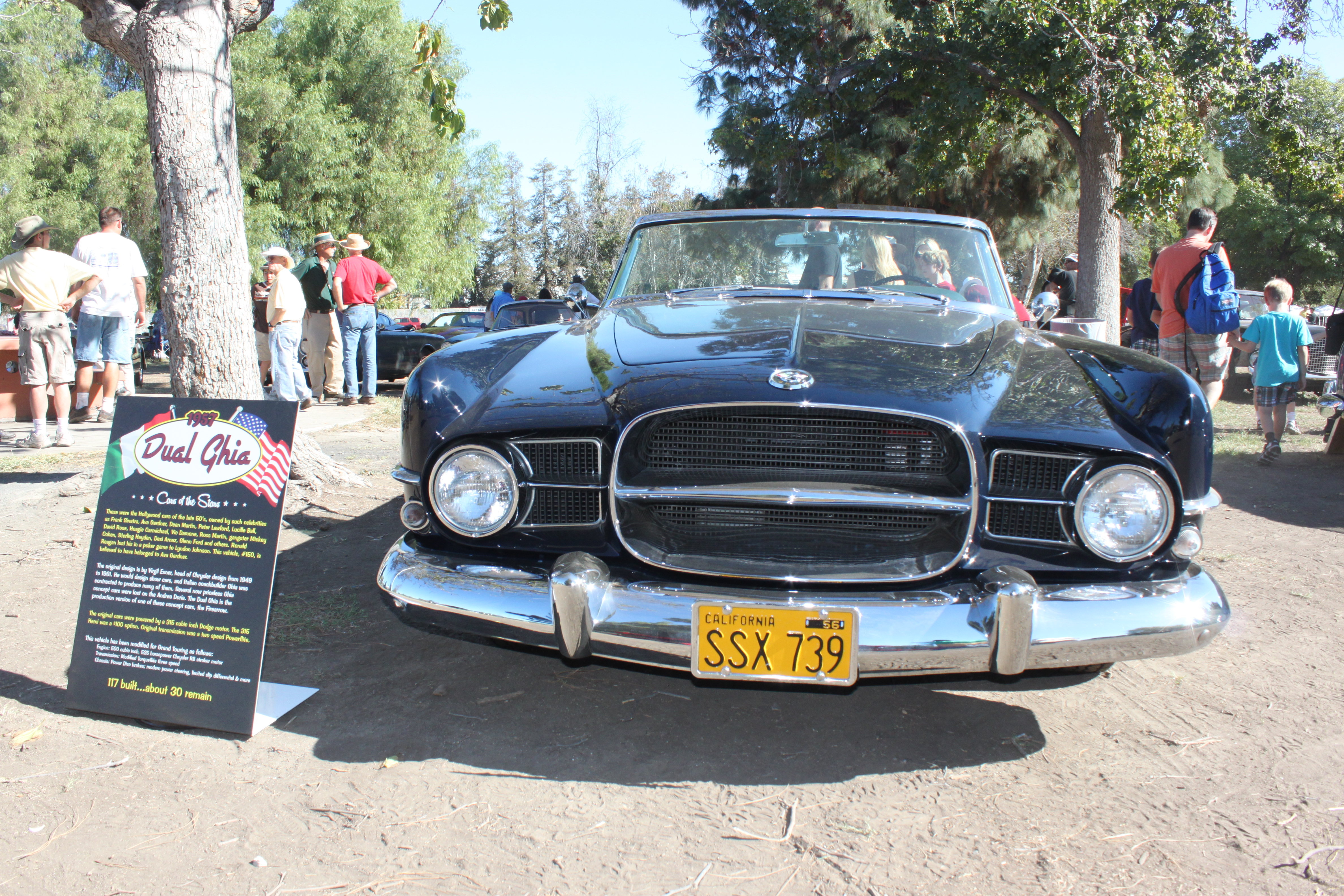 Best of France and Italy Car Show at Woodley Park, Van Nuys, CA