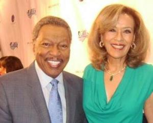 Marilyn McCoo and Billy Davis Jr. arrives at the red carpet of C.A.R.R.Y. event, Intercontinental Hotel Century City CA
