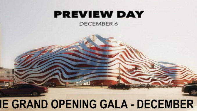 Petersen Museum Grand Re-Opening Gala