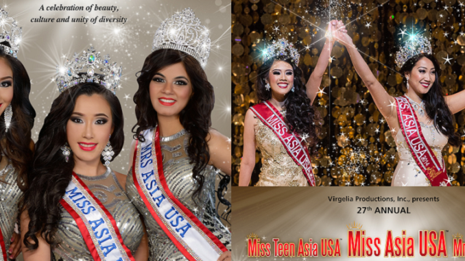 Virgelia Productions Presents Mrs Asia USA and Miss Asia USA 2015
