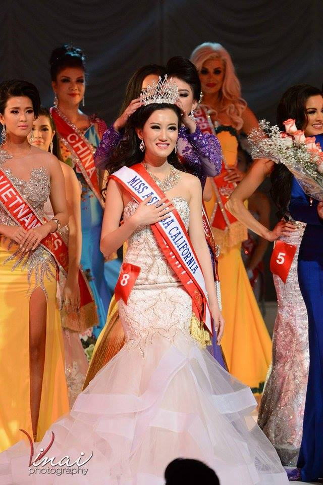 Virgelia – Du Chen crowned Miss Asia USA – CA 2015- 16