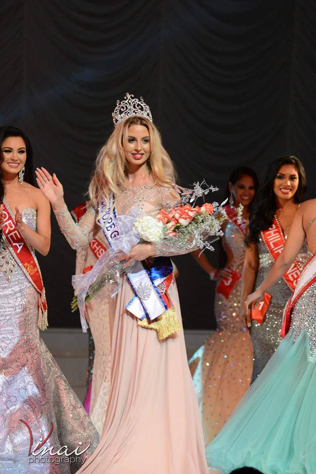 Virgelia – Lidia Ivanova winner of Miss Europe Global 2016