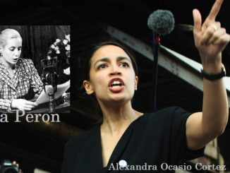 Alexandra Ocasio Cortez the new Eva