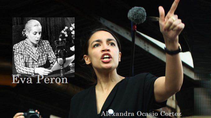 Alexandra Ocasio Cortez the new Eva