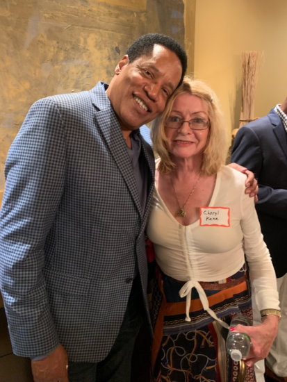Cheryl Kane With courageous conservative LARRY ELDER