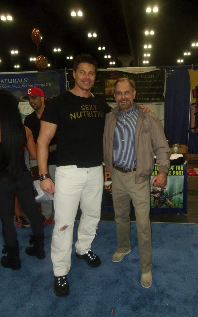 Actor/ Body Builder Roland Kickinger