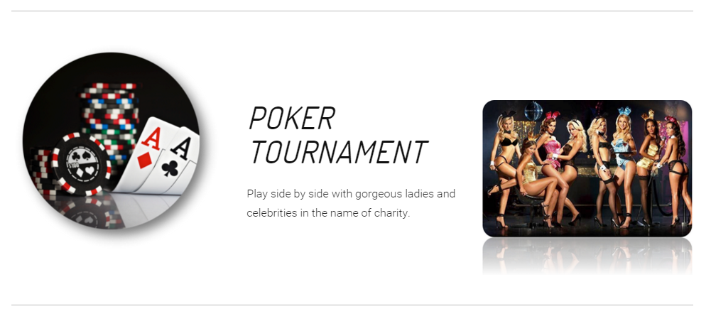 City Gala 2016 Poker Tournament at the Playboy Mansion