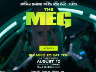 MEG Movie Starring Jason Statham
